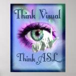 Think Visual 2012 poster