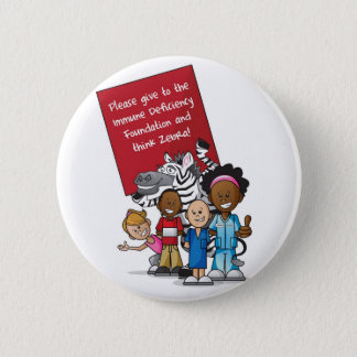 Think Zebra 2011 6 Cm Round Badge