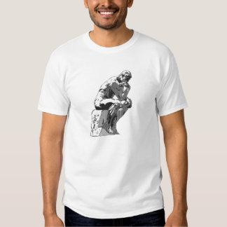 thinker tshirt