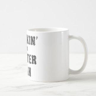 Thinkin' of a Master Plan Basic White Mug