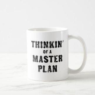 Thinkin' of a Master Plan Coffee Mugs