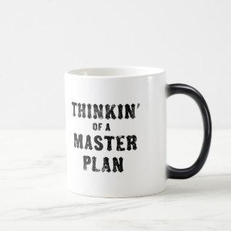 Thinkin' of a Master Plan Morphing Mug