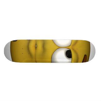 Thinking. 21.6 Cm Skateboard Deck