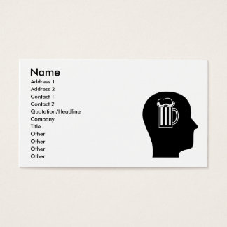 Thinking About Beer Business Card