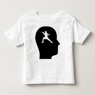 Thinking About Fencing Toddler T-Shirt