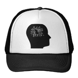 Thinking About Fireworks Mesh Hats