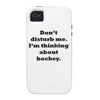 Thinking About Hockey iPhone 4 Cases