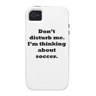 Thinking About Soccer iPhone 4/4S Covers