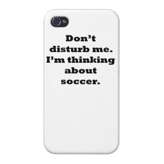 Thinking About Soccer iPhone 4 Covers