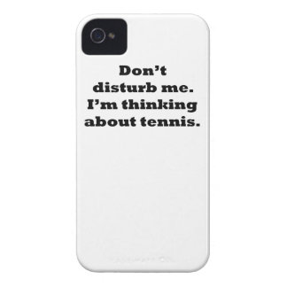 Thinking About Tennis Case-Mate iPhone 4 Case