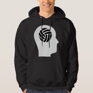Thinking About Volleyball Hoodie