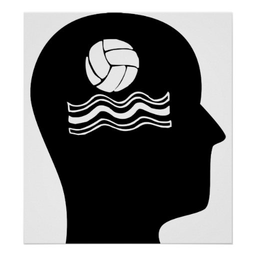 Thinking About Water Polo Poster