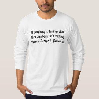 Thinking alike tee shirt
