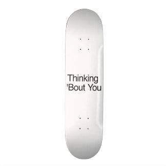Thinking 'Bout You Skateboard Decks