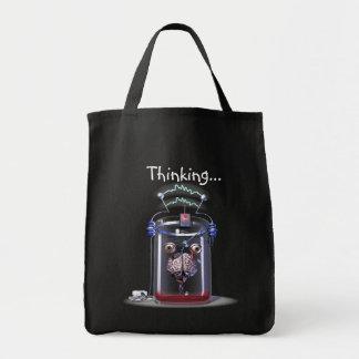 Thinking Brain Shopping Bags