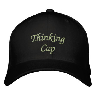 Thinking Cap Embroidered Cap