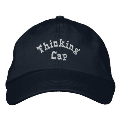 Thinking Cap Humourous Embroidered Hat