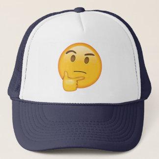 Thinking Face - Emoji Trucker Hat