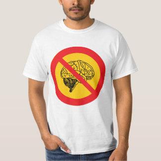 Thinking forbidden t-shirts