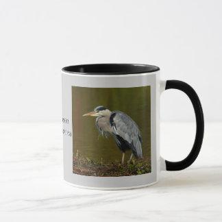 Thinking Heron Mug