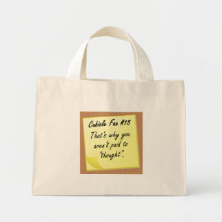 Thinking just isn't what you are good at bags