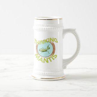 Thinking Mantis Beer Stein