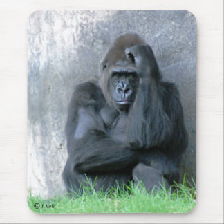 thinking mouse mat