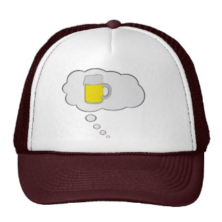 Thinking of Beer Think Bubble Hat