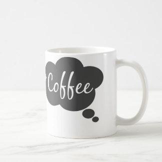 Thinking of Coffee Coffee Mug