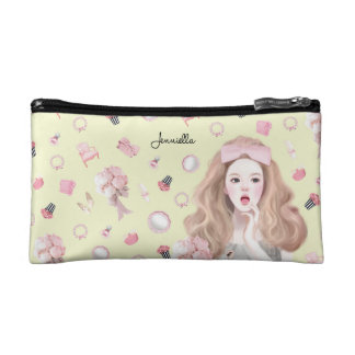Thinking of girly things cosmetic bag