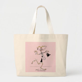 thinking of me, tony fernandes large tote bag