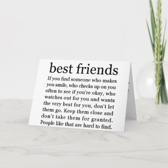 THINKING OF MY BEST FRIEND HAPPY BIRTHDAY CARD