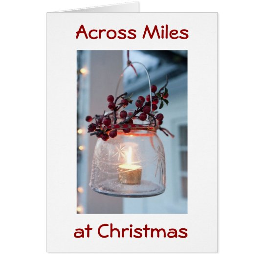 THINKING OF OUR FRIENDS AT CHRISTMAS/ALWAYS CARD