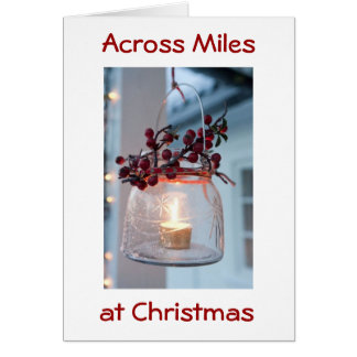 THINKING OF OUR FRIENDS AT CHRISTMAS/ALWAYS GREETING CARD