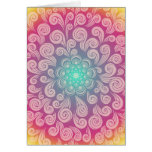 Thinking of You and Sending Prayers, Too - Swirls Note Card