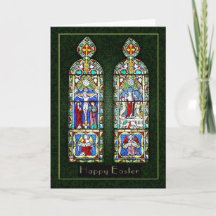 Thinking of you at Easter - The Resurrection In St Holiday Card