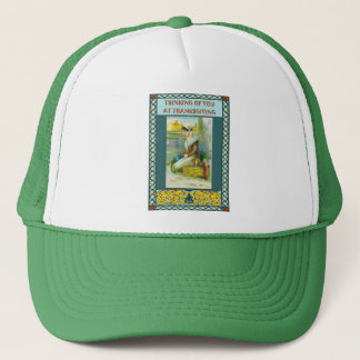 Thinking of you at Thanksgiving Trucker Hat