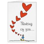 Thinking of you... BIMBO card
