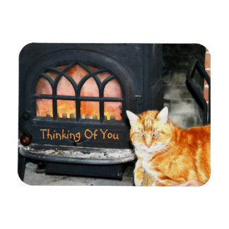 Thinking Of You Cat Magnet