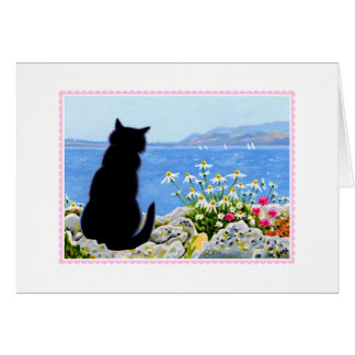 Thinking of You CAT Note Card