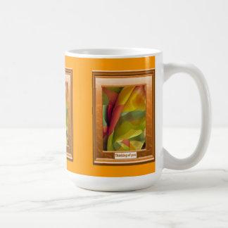 Thinking of you, Coming of spring Basic White Mug