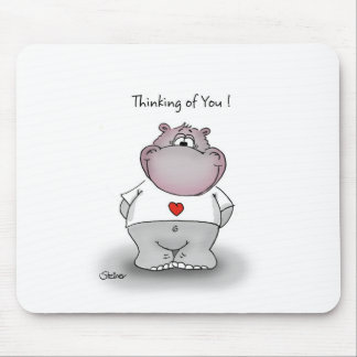Thinking of You! Cute gift for your loved one. Mouse Pad