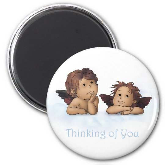 Thinking of You(GCU) 6 Cm Round Magnet