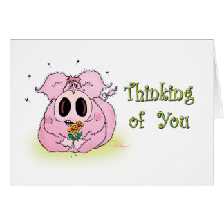 """""""Thinking of You"""" Greeting Card"""