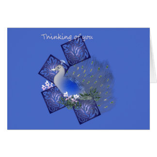 Thinking of You greeting card. Greeting Card
