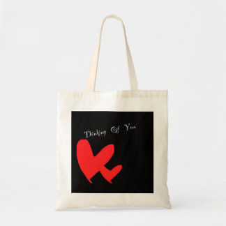 Thinking of you handbag budget tote bag