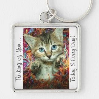 Thinking of You Key Chain Kitten