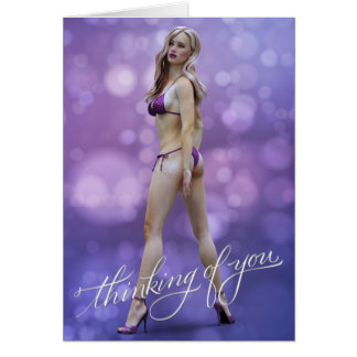 Thinking of You Laurie Greeting Card