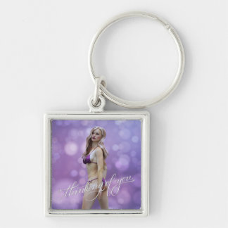 Thinking of You Laurie Key Chains