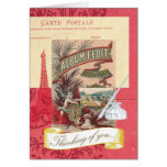 Thinking of You Parisian Collage Greeting Card